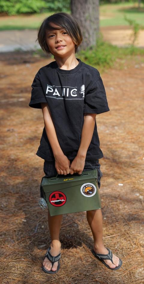 ammunitions boy at fort bragg nc