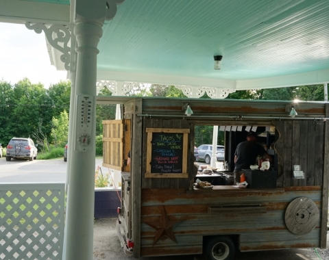 tacos greensboro vermont highland lodge