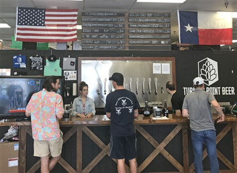 turning point beer bedford brewery dallas