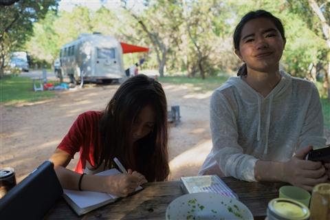 pedernales campground shelter rv site