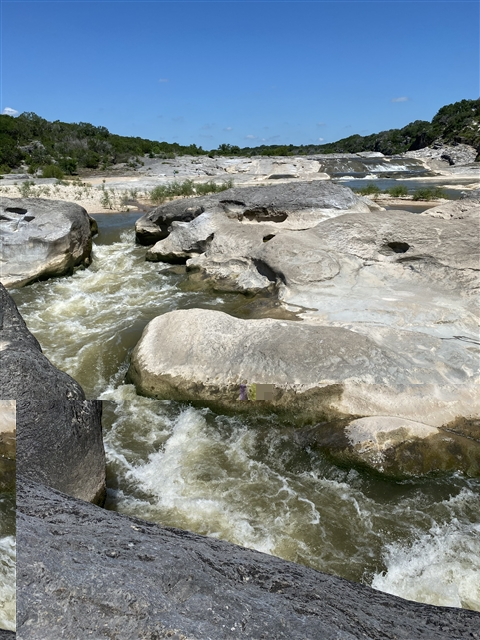 pedernales falls state park texas hill country