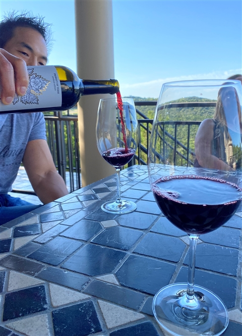 texas red wine