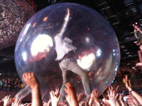 wayne in his space bubble