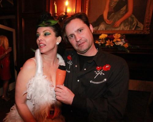 bjork swan dress and I