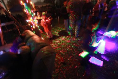fun under the laser