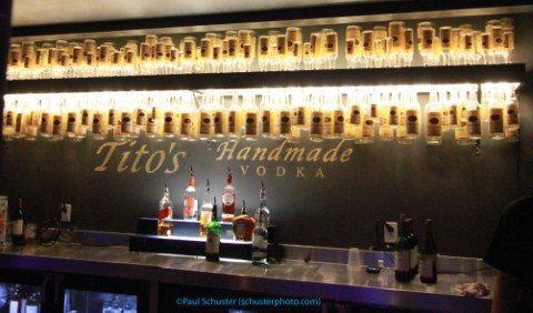 tito's bar at moody theater