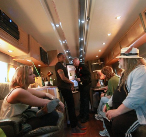 party on the prevost