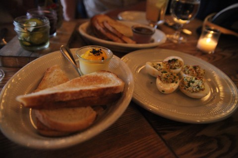 haddington's austin deviled eggs