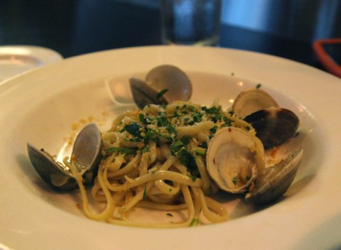 linguine with clams at asti austin italian bistro food