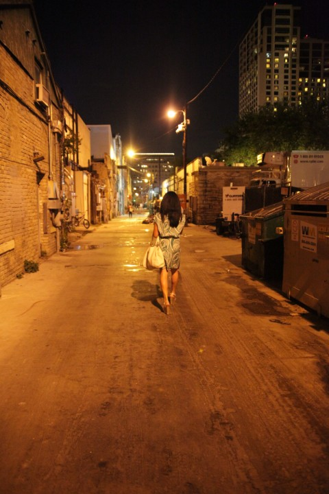alley behind midnight cowboy modelling oriental massage