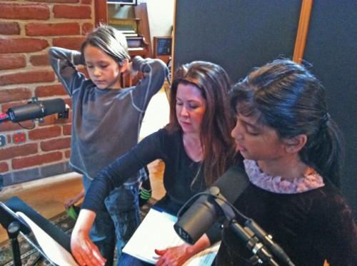 laura wright eanes ocean show recording studio 2012