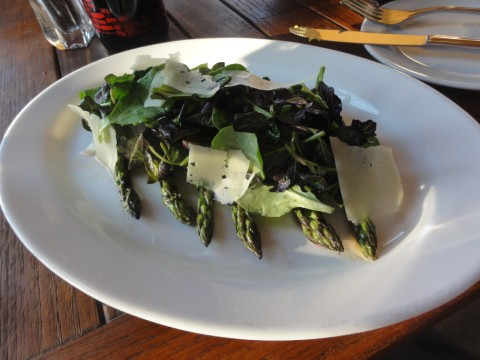 grilled asparagus salad eleven plates wine westlake austin