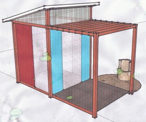 wimberley cabin plan sketchup
