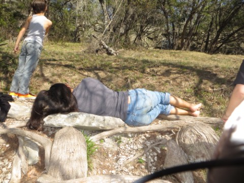 kat nap on the blanco river