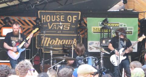 pallbearer house of vans sxsw mohawk 2013 austin