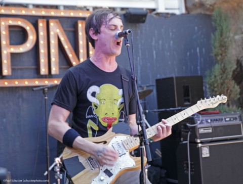 the thermals at sxsw spin magazine party 2013