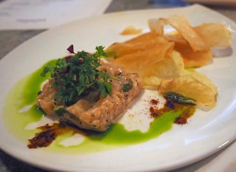 austin tapas salmon tartare tapasitas happy hour