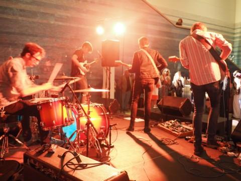 blanton museum of art b-scene live music shivery shakes