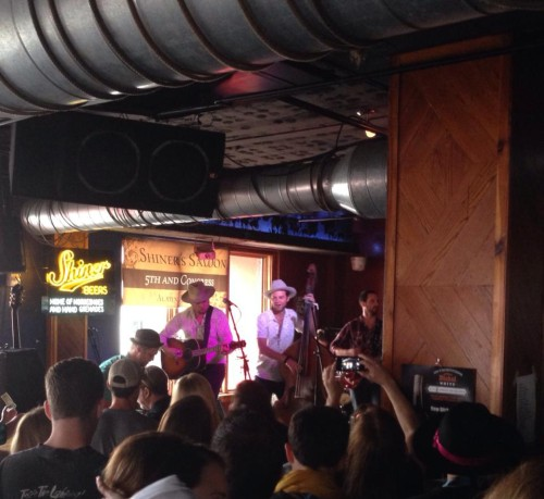sons of fathers shiner's saloon sxsw 2014
