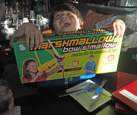 marshmallow bow shooter