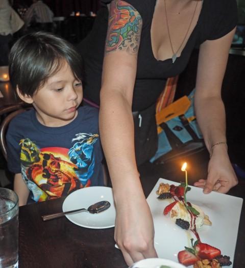 tapasitas birthday candle austin tx
