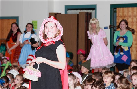 eanes fashion show i love to read