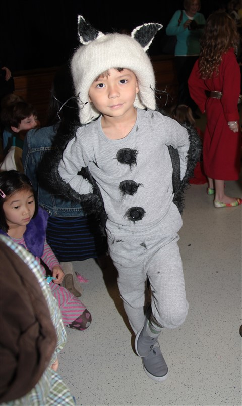 max where the wild things are costume home made eanes fashion show