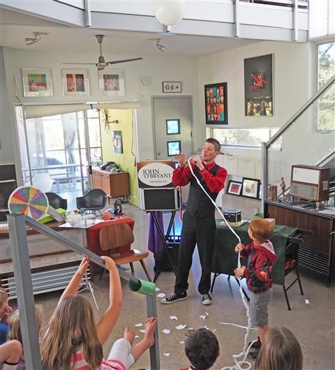 magician john o'bryant birthday show