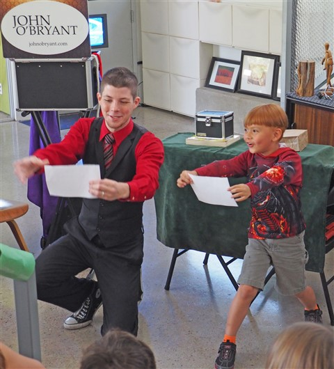 john o'bryant birthday party entertainer magician