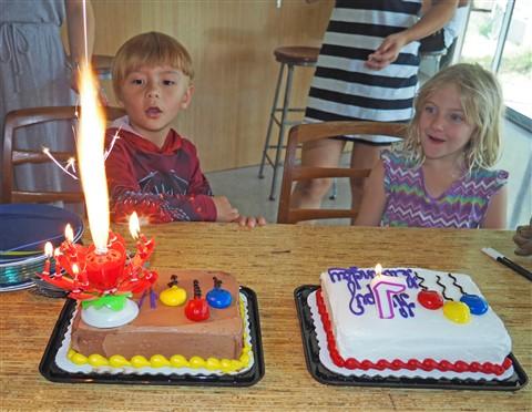 magic birthday candle