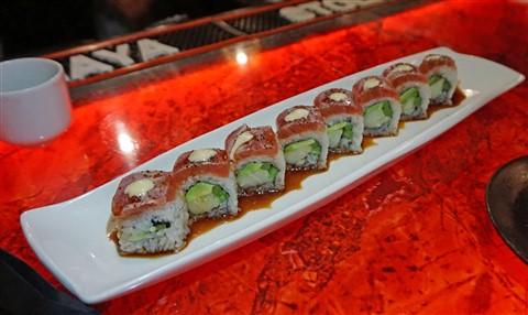 no name roll #2 jorge sushi chinatown westlake austin truffle mayonnaise