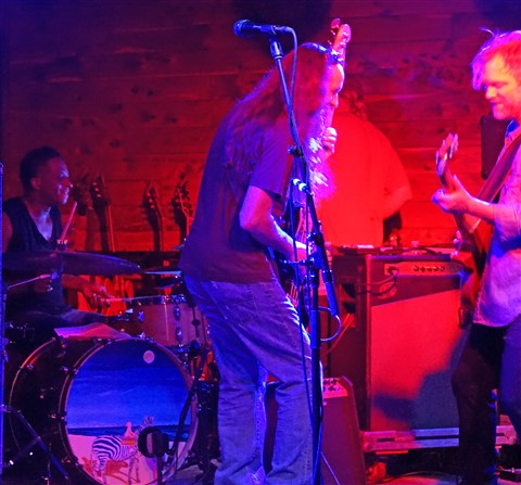 Brady Blade with Anders Osborne austin scoot inn