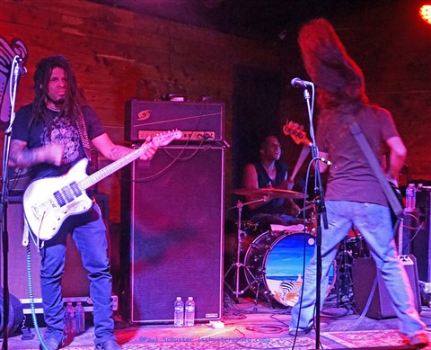brady blade drummer with anders osborne at the scoot inn austin tx