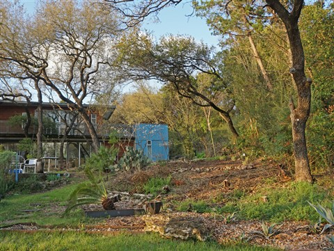 austin modhouse landscape project