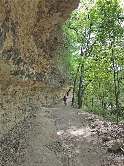 urban hike and bike trail austin shoal creek