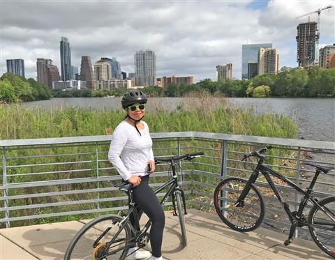 town lake hike and bike austin ladybird