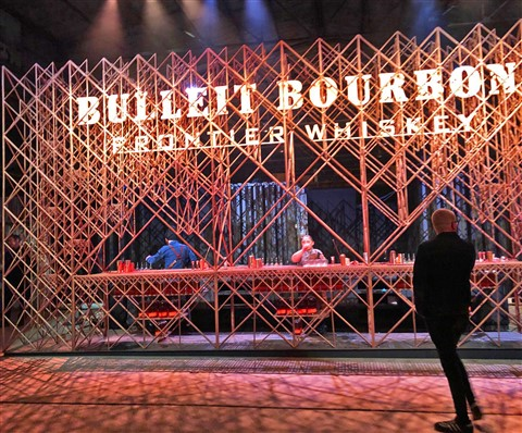 bullet bourbon whiskey austin fronier party