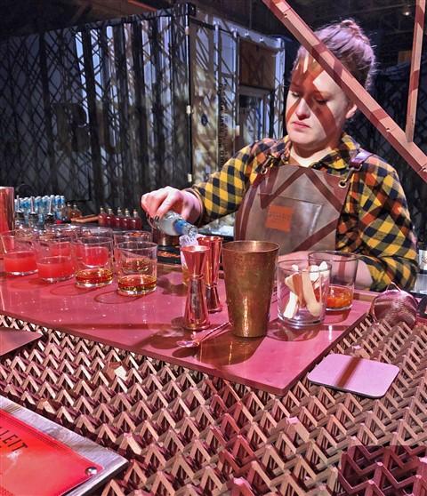 bulleit bourbon austin 3d printed bar