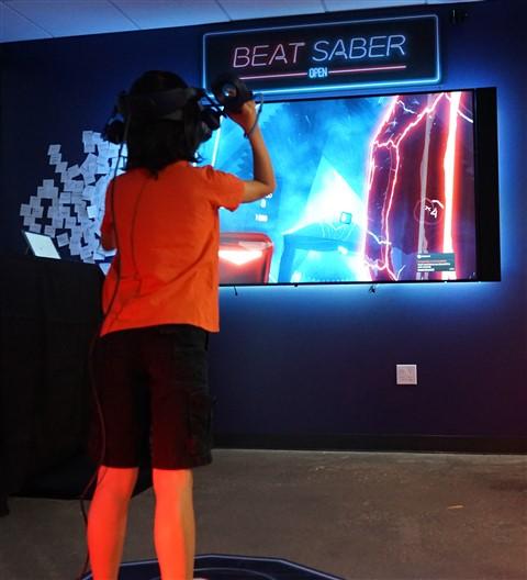 enov beat saber VR at sxsw 2019