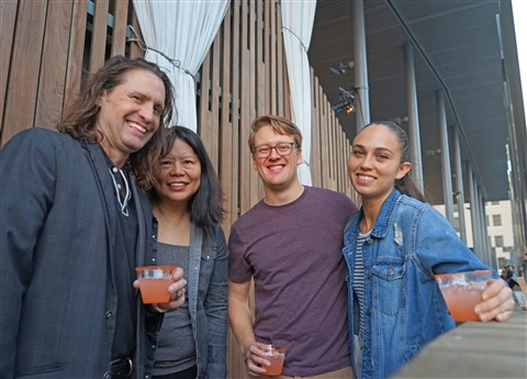 jones center for contemporary art member's rooftop party