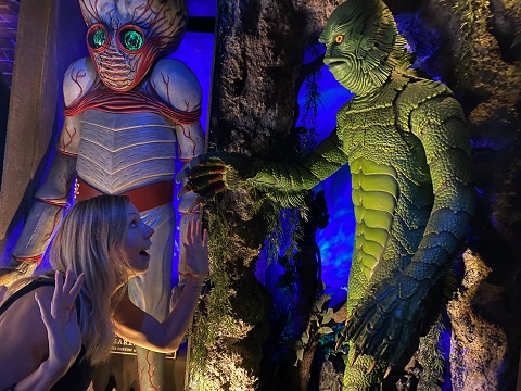 creature from the black lagoon austin museum of the weird
