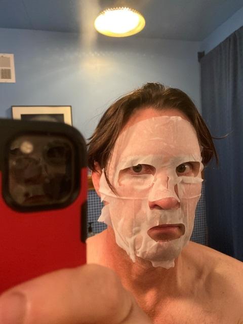 virus zombie hydration mask