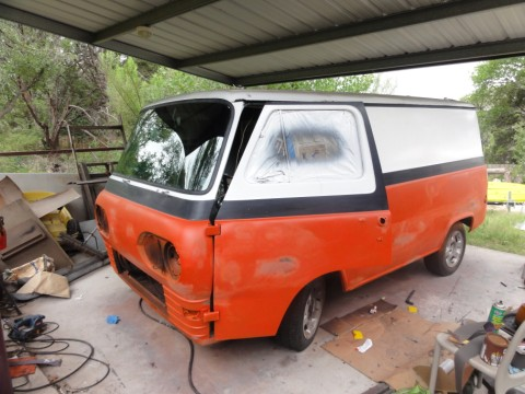 vintage econoline van