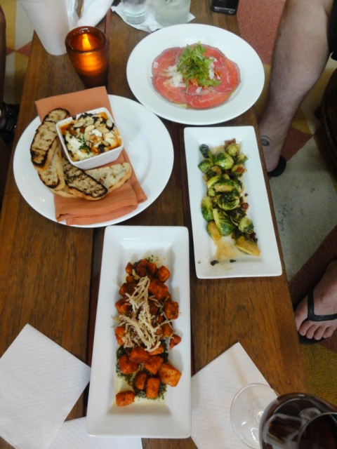happy hour tapas at cork la contessa san antonioa