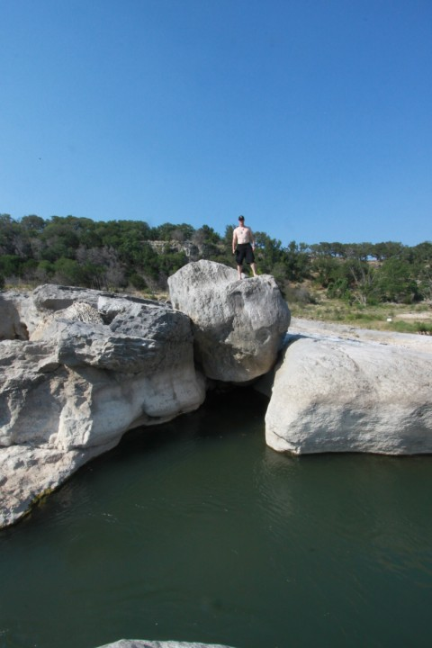 big rock pedernales