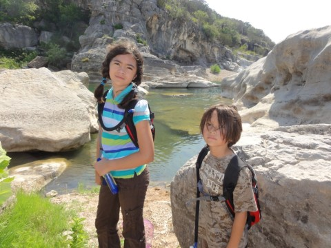 amh kids at pedernales 2011