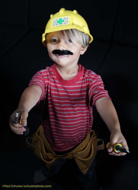 mario the fixer man baby with tools