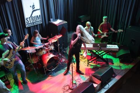 strum music school austin texas stubb's bbq recital