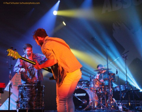walk the moon (band) absolut x vodka party