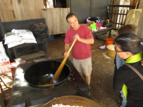 wimberley market days kettle corn